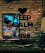 KEEP CALM AND Love DodoL - Personalised Poster A4 size
