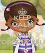 KEEP CALM AND LOVE DOTTORESSA PELUCHE - Personalised Poster A4 size