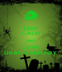 KEEP CALM AND LOVE DRACO MALFOY - Personalised Poster A4 size