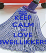 KEEP CALM AND LOVE dWEILLIKKERS - Personalised Poster A4 size