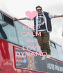 KEEP CALM AND LOVE DYNAMO - Personalised Poster A4 size