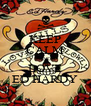 KEEP CALM AND LOVE ED HARDY - Personalised Poster A4 size