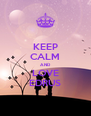 KEEP CALM AND LOVE EDRUS - Personalised Poster A4 size