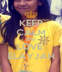 KEEP CALM AND LOVE  ELAYJAH - Personalised Poster A4 size