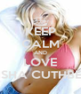 KEEP CALM AND LOVE ELISHA CUTHBERT - Personalised Poster A4 size