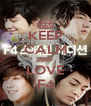 KEEP CALM AND LOVE F4 - Personalised Poster A4 size