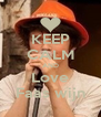 KEEP CALM AND Love Faas wijn - Personalised Poster A4 size