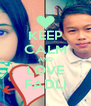 KEEP CALM AND LOVE FADLI - Personalised Poster A4 size