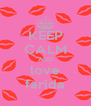KEEP CALM AND love farida - Personalised Poster A4 size
