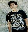 KEEP CALM AND LOVE FARRAZ HAIDAR AKBAR - Personalised Poster A4 size