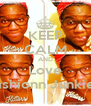 KEEP CALM AND Love Fashionn Junkiee - Personalised Poster A4 size