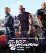 KEEP CALM AND Love  Fast and the furious  - Personalised Poster A4 size