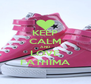 KEEP CALM AND LOVE FATHIMA - Personalised Poster A4 size