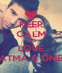 KEEP CALM AND LOVE FATMA & ÖMER - Personalised Poster A4 size