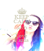 KEEP CALM AND Love  Fazila - Personalised Poster A4 size