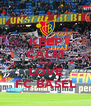 KEEP CALM AND LOVE FC BASEL - Personalised Poster A4 size