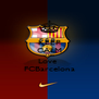 KEEP CALM AND Love  FCBarcelona - Personalised Poster A4 size