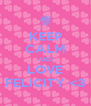 KEEP CALM AND LOVE FELICITY <3 - Personalised Poster A4 size