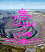 KEEP CALM AND LOVE FERREXPO - Personalised Poster A4 size