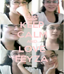 KEEP CALM AND LOVE FEYZA - Personalised Poster A4 size