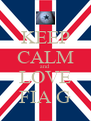 KEEP CALM and LOVE FIA G - Personalised Poster A4 size