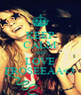 KEEP CALM AND LOVE FROSEEAA<3 - Personalised Poster A4 size