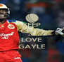 KEEP CALM AND LOVE GAYLE - Personalised Poster A4 size