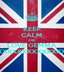 KEEP CALM AND LOVE GEMMA XXXXXXXXXXXXXXXXXXXXXX - Personalised Poster A4 size