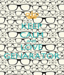 KEEP CALM AND LOVE GENARATOR - Personalised Poster A4 size