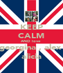KEEP CALM AND love  georgina , alex  alicia - Personalised Poster A4 size