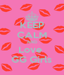KEEP CALM AND Love  GG Girls - Personalised Poster A4 size