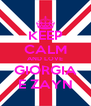 KEEP CALM AND LOVE GIORGIA E ZAYN - Personalised Poster A4 size