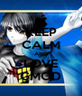 KEEP CALM AND LOVE GMOD - Personalised Poster A4 size