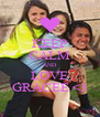 KEEP CALM AND LOVE GRACEE <3 - Personalised Poster A4 size