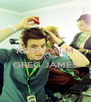 KEEP CALM AND LOVE GREG JAMES  - Personalised Poster A4 size