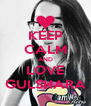 KEEP CALM AND LOVE GULSHARA - Personalised Poster A4 size