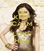 KEEP CALM AND LOVE Hale - Personalised Poster A4 size