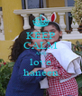 KEEP CALM AND love haneen - Personalised Poster A4 size
