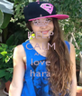 KEEP CALM AND love hara - Personalised Poster A4 size