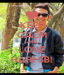 KEEP CALM AND LOVE HARI SB! - Personalised Poster A4 size