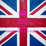 KEEP CALM AND LOVE HAROLD STYLES - Personalised Poster A4 size