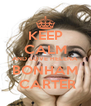 KEEP CALM AND LOVE HELENA BONHAM  CARTER - Personalised Poster A4 size