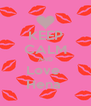 KEEP CALM AND Love  Hena  - Personalised Poster A4 size