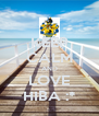 KEEP CALM AND LOVE HIBA :* - Personalised Poster A4 size