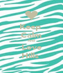 Keep  Calm And Love Hills  - Personalised Poster A4 size