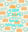 KEEP CALM AND love hintertal - Personalised Poster A4 size