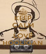 KEEP CALM AND LOVE HOOLIGAN - Personalised Poster A4 size