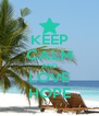 KEEP CALM AND LOVE HOPE - Personalised Poster A4 size