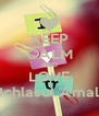 KEEP CALM AND LOVE Ichlasul Amal - Personalised Poster A4 size