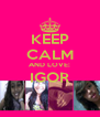 KEEP CALM AND LOVE: IGOR  - Personalised Poster A4 size